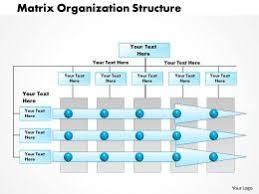 Project Team Structure Chart Matrix Org Chart Slide Team