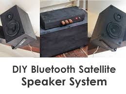 picture of diy bluetooth satellite speaker system w subwoofer