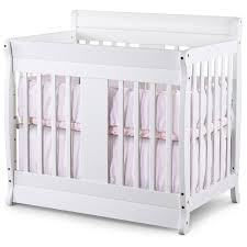 Modern Small Cribs Babies Color White Wooden ...