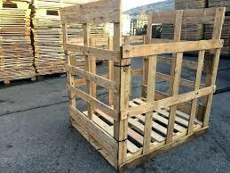 pallet wood crate standard size pallet crates diy pallet wood crates crates and pallet pallet crates