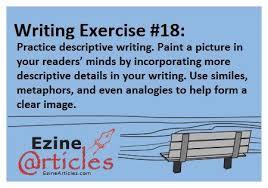 descriptive essay exercises place writing descriptive essays