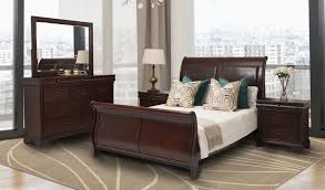 Gallery bedroom mirror furniture Mirrored Glass Leather Gallery Princeton Piece Bedroom Set Leather Gallery
