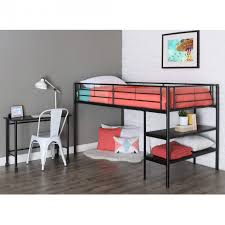 fabulous twin loft bed with desk applied to your home decor twin metal loft bed