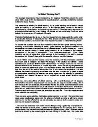 essay about global warming persuasive essay about global warming
