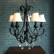 past 5 light wrought iron vintage crystal chandelier within and prepare 8 white lantern chandeliers fl