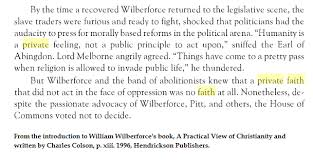 William Wilberforce Quotes Inspiration This Popular Quote A Private Faith That Does Not Act Is About