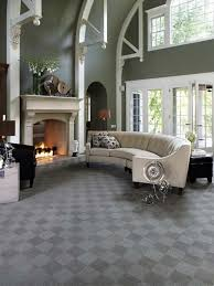 carpet colors for living room. Pretty Grey Berber Carpet Color For Luxury Living Room Ideas Using White Leather Tufted Half Circular Sofa Set Colors