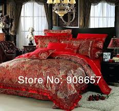 red and gold duvet cover duvet covers enjoyable inspiration red and gold duvet cover bedding sets
