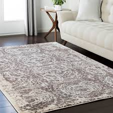 gibson vintage distressed 2 x 3 area rug