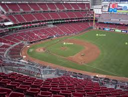 New Great American Ballpark Detailed Seating Chart