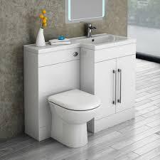 valencia 1100mm combination bathroom suite unit with basin round