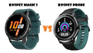 <b>Kospet Magic 2</b> VS Kospet Probe SmartWatch Comparison ...