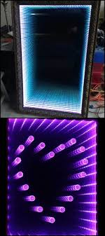 infinity led mirror. how to make an infinity led mirror led