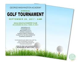 Golf Tournament Flyer Template Golf Tournament Flyer Template School Golf Tournament Poster Golf Fundraiser Poster Printable Flyer 8 5x11