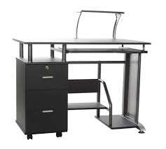 tempered glass office desk. Desk:Tempered Glass Top Desk Clear Office Computer Table Price List Metal Tempered