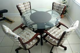 dining chair caster chairs casters oak with room upholstered c coaster upholstered arm