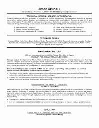Technology Resume Template Word Best Of Technical Resume Templates Refrence Technical Resume Template Word