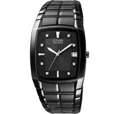citizen men s ion plated stainless steel black eco drive watch citizen men s ion plated stainless steel black eco drive watch