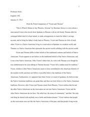 this is what it means to say phoenix arizona minh tran ms 4 pages piece by piece comparison of victor and thomas essay