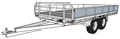 free trailer building plans