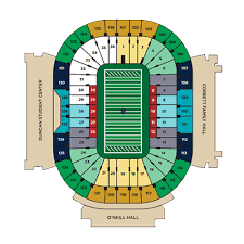 Notre Dame Stadium Detailed Seating Chart Billy Joel Notre Dame Tickets Billy Joel Notre Dame