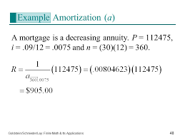 48 example amortization