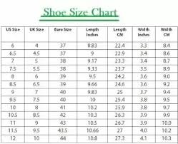 What Is The Equivalent Indian Shoe Size For The Uk Size 8