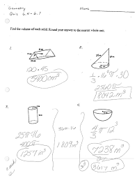 Surface+Area+Quiz 3 homework help textbook solutions on geometry final exam review worksheet answers