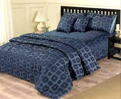 blue duvet cover dark king royal single