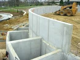decorative concrete wall forms concrete decorative forms concrete retaining wall forms curved concrete wall cast with