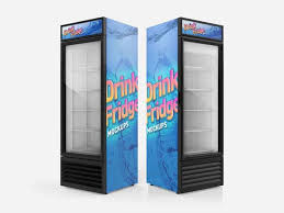Stand Up Display Fridge Amazing Refrigerator Wraps Custom Fridge Decals Non Stop Signs