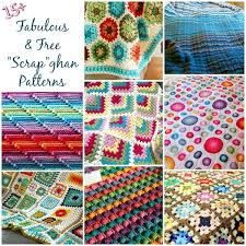 Free Crochet Afghan Patterns Adorable Lots Of Free Crochet Afghan Patterns Perfect For Scrapghans