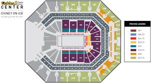 golden 1 center seating chart disney on ice golden1center