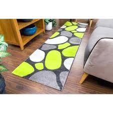 grey green rug pink tempo pebbles runner