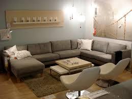 Ikea Karlstad Leather Sectional Sofa