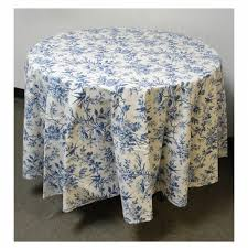 blue bird french tablecloth 90 inches round regarding entrancing 90 inch round tablecloth for