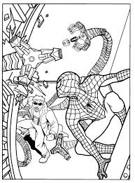 Click on the free spiderman colour page you would like to print, if you print them all you can make your own. Spiderman Coloring Pages