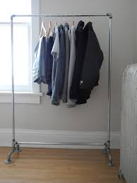 diy projects crafts pipe clothes rackclothing