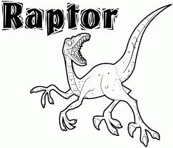 Small Picture Velociraptor Coloring Pages qlyviewcom