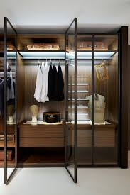 free standing closet wardrobe glass door