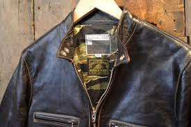 himel brothers kensington racing shirt jacket brown horse hide
