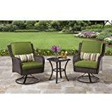 Small Picture Amazoncom 3 Piece Outdoor Furniture Set Better Homes and