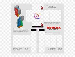 Roblox Transparent Template Armaan Sticker Roblox Pants Template Png Transparent Png