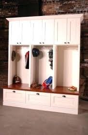 lockers for mudroom locker storage solutions wood with bench units