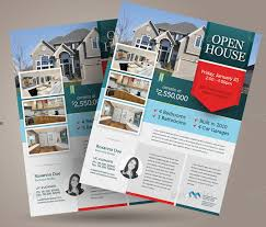 mortgage flyer template free open house flyer templates download customize