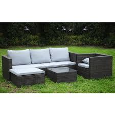 rattan modular corner sofa rattan