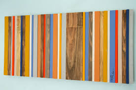 wood wall art reclaimed wood decor modern wood sculpture customize