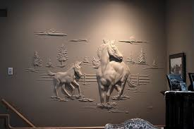 drywall art sculpture joint compound bernie mitchell 12