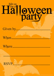 Blank Halloween Invitation Templates Free Halloween Invitation Cliparts Download Free Clip Art