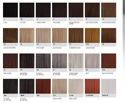 Wig Color Chart Codes Wig Colours Explained